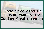 Jaar Servicios De Transportes S.A.S Cajicá Cundinamarca