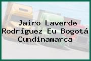 Jairo Laverde Rodríguez Eu Bogotá Cundinamarca