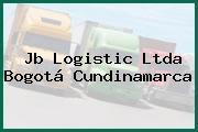 Jb Logistic Ltda Bogotá Cundinamarca