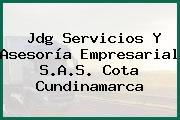Jdg Servicios Y Asesoría Empresarial S.A.S. Cota Cundinamarca