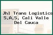 Jhl Trans Logistics S.A.S. Cali Valle Del Cauca