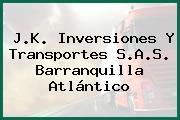 J.K. Inversiones Y Transportes S.A.S. Barranquilla Atlántico