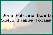 Jose Rubiano Duarte S.A.S Ibagué Tolima