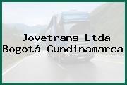 Jovetrans Ltda Bogotá Cundinamarca