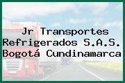 Jr Transportes Refrigerados S.A.S. Bogotá Cundinamarca