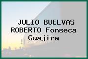JULIO BUELVAS ROBERTO Fonseca Guajira