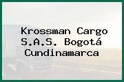 Krossman Cargo S.A.S. Bogotá Cundinamarca