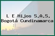 L E Hijos S.A.S. Bogotá Cundinamarca