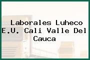 Laborales Luheco E.U. Cali Valle Del Cauca