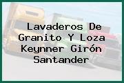 Lavaderos De Granito Y Loza Keynner Girón Santander