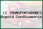 LC TRANSPORTADORES Bogotá Cundinamarca