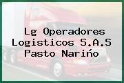 Lg Operadores Logisticos S.A.S Pasto Nariño