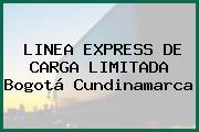LINEA EXPRESS DE CARGA LIMITADA Bogotá Cundinamarca