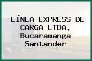 LÍNEA EXPRESS DE CARGA LTDA. Bucaramanga Santander