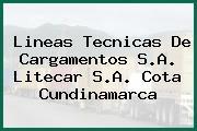 Lineas Tecnicas De Cargamentos S.A. Litecar S.A. Cota Cundinamarca