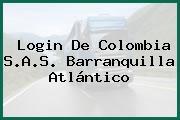 Login De Colombia S.A.S. Barranquilla Atlántico