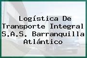 Logística De Transporte Integral S.A.S. Barranquilla Atlántico