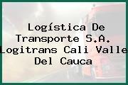 Logística De Transporte S.A. Logitrans Cali Valle Del Cauca