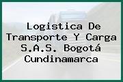 Logistica De Transporte Y Carga S.A.S. Bogotá Cundinamarca