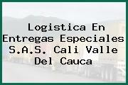 Logistica En Entregas Especiales S.A.S. Cali Valle Del Cauca
