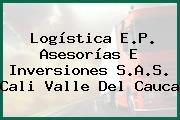 Logística E.P. Asesorías E Inversiones S.A.S. Cali Valle Del Cauca