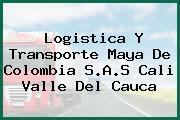 Logistica Y Transporte Maya De Colombia S.A.S Cali Valle Del Cauca