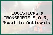 LOGÍSTICAS & TRANSPORTE S.A.S. Medellín Antioquia