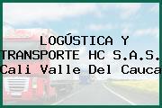 LOGÚSTICA Y TRANSPORTE HC S.A.S. Cali Valle Del Cauca