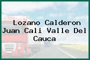 Lozano Calderon Juan Cali Valle Del Cauca