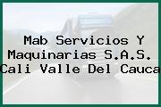 Mab Servicios Y Maquinarias S.A.S. Cali Valle Del Cauca