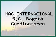 MAC INTERNACIONAL S.C. Bogotá Cundinamarca
