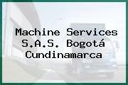 Machine Services S.A.S. Bogotá Cundinamarca