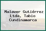 Malaver Gutiérrez Ltda. Tabio Cundinamarca