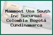 Mammoet Usa South Inc Sucursal Colombia Bogotá Cundinamarca
