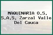 MAQUINARIA O.S. S.A.S. Zarzal Valle Del Cauca