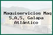 Maquiservicios Maq S.A.S. Galapa Atlántico