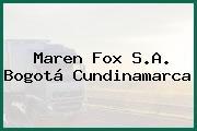 Maren Fox S.A. Bogotá Cundinamarca