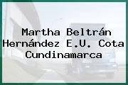 Martha Beltrán Hernández E.U. Cota Cundinamarca