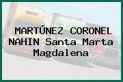 MARTÚNEZ CORONEL NAHIN Santa Marta Magdalena