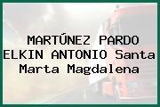MARTÚNEZ PARDO ELKIN ANTONIO Santa Marta Magdalena