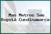Mas Metros Sas Bogotá Cundinamarca