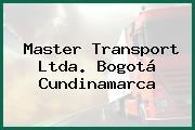 Master Transport Ltda. Bogotá Cundinamarca