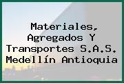 Materiales, Agregados Y Transportes S.A.S. Medellín Antioquia