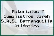 Materiales Y Suministros Jireh S.A.S. Barranquilla Atlántico