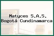 Matyces S.A.S. Bogotá Cundinamarca