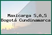 Maxicarga S.A.S Bogotá Cundinamarca