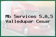 Mb Services S.A.S Valledupar Cesar
