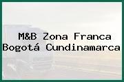 M&B Zona Franca Bogotá Cundinamarca