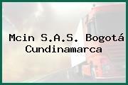 Mcin S.A.S. Bogotá Cundinamarca