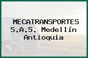 MECATRANSPORTES S.A.S. Medellín Antioquia